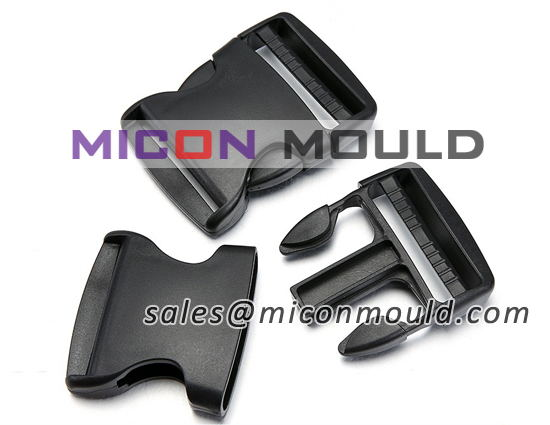 Plastic backpack buckle mould maker