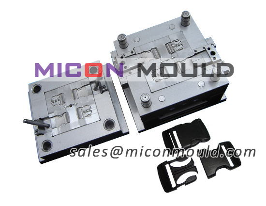 side release buckle mould