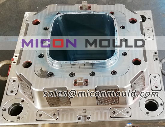 square bucket mould