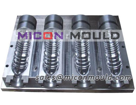 stretch blow mould